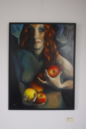 Artist: Yelena Lamm Oil on Canvas 30x40in $3600