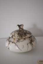 Artist: Sandra Moore Ceramic/Gold 7.5x7.5in $500