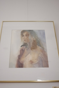 Artist: Dorothy de Groat Watercolor 21x18in $600